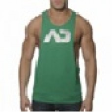 Addicted Vest - Silver on Green