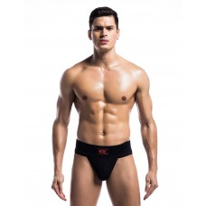 Sexy Black Wide Band Jockstrap