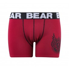 BEAR B/SHORT-PANEL Red