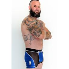 Beard Bastard Boxers Blue