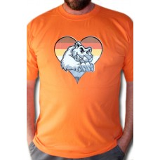 Bear Love Orange