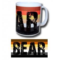 Bear Print Mug