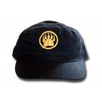 Military Cap - Gold Monogram Black