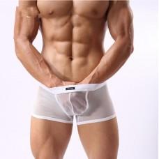 Cockcon Mesh Boxers White