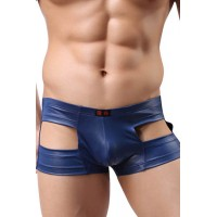 Blue cut-out underwear