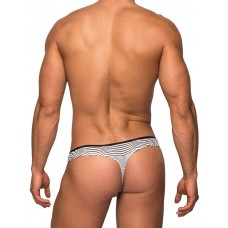 Tranquil Abyss Mini Thong - White