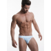 Pump Mesh Jock-Strap White and Babyblue