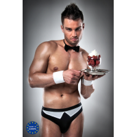 Passion Black and white waiters outfit