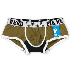 Pink Hero Army Green Low Waist with back-print