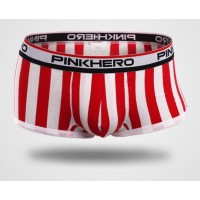Pink Hero Red Dynamic Stripes