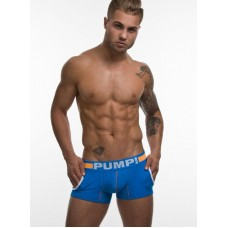 Pump Hollow Mesh Boxer Sky Blue and Orange