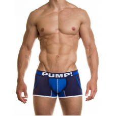 Pump Hollow Mesh Boxers Blue
