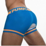 Pump Hollow Mesh Boxers Sky Blue