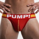Pump Mesh Jock-Strap Red