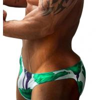 Green Roses Brief Swimwear