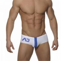 Addicted briefs Navy Stripe on White Swimwear