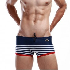Sexy Navy Sailor Stripe Trunks