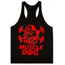 Muscle Dog Vest Black