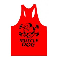 Muscle Dog Vest Red