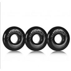 Oxballs Ringer 3 Pack Ring - Black